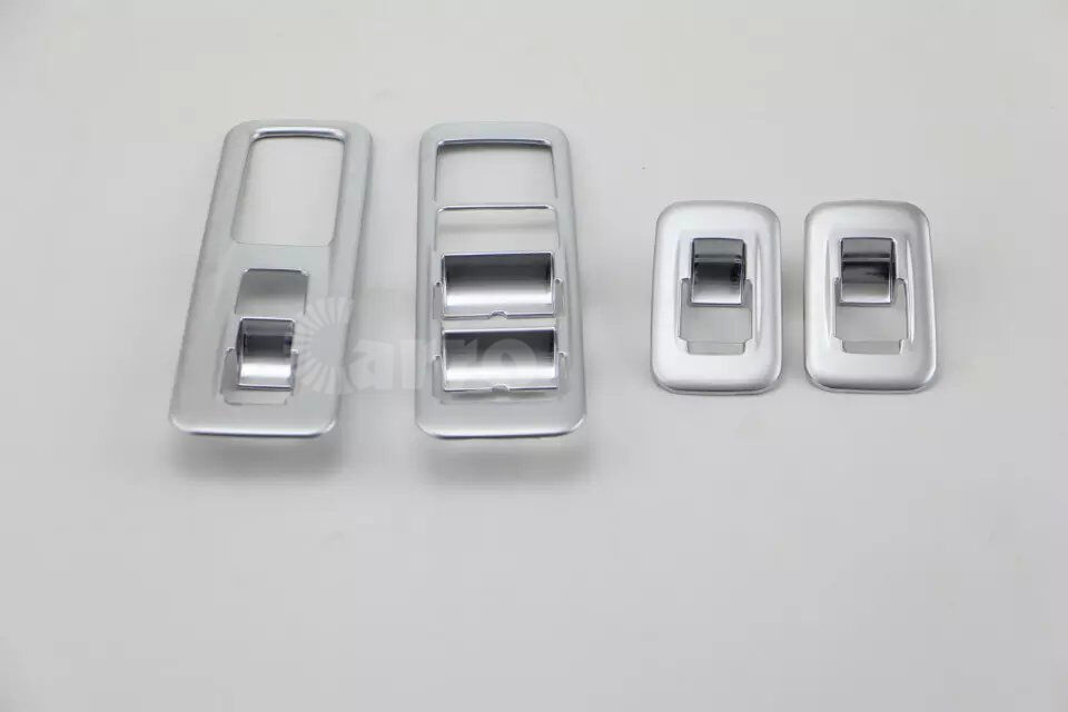 Interior window switch bezel clips cover abs chrome for for 2000 lexus rx300 master window switch