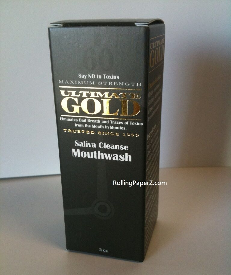 Ultimate Gold Detox Saliva Cleansing Mouth Wash Instant Acting