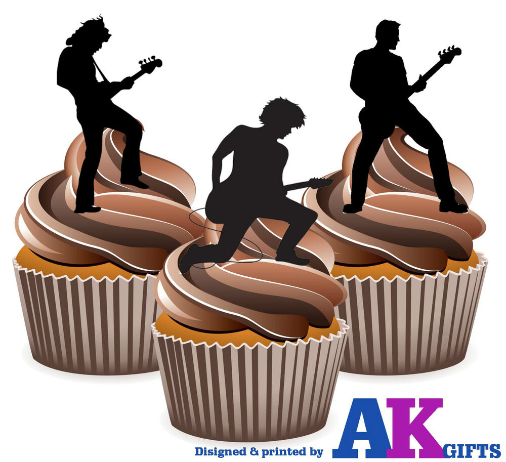 Guitar Cake Toppers Uk