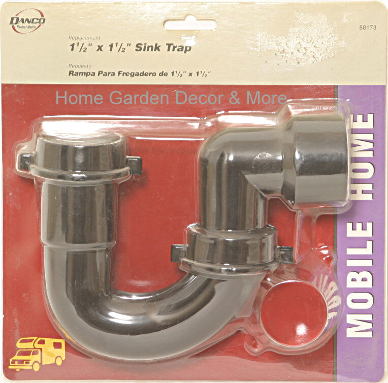 mobile home kitchen sink plumbing danco mobile home 1 1 2 quot kitchen sink trap drain 88173 ebay 9186