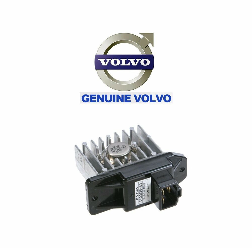 brand new volvo s40 v40 hvac blower motor resistor genuine. Black Bedroom Furniture Sets. Home Design Ideas