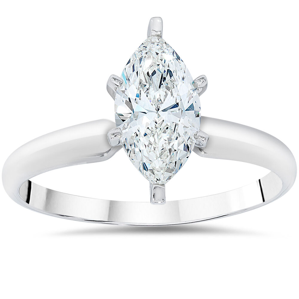 Marquise Cut Engagement Rings Gold