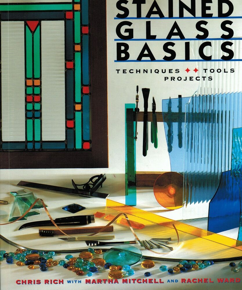 Learn the art of stained glass basics techniques tools for How to learn glass painting at home