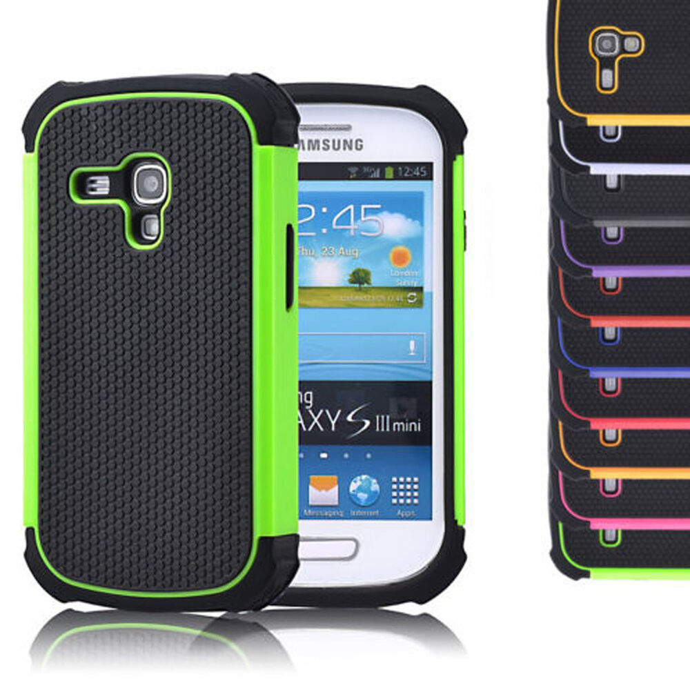 Hard Shockproof Case Cover For Samsung Galaxy Mobile