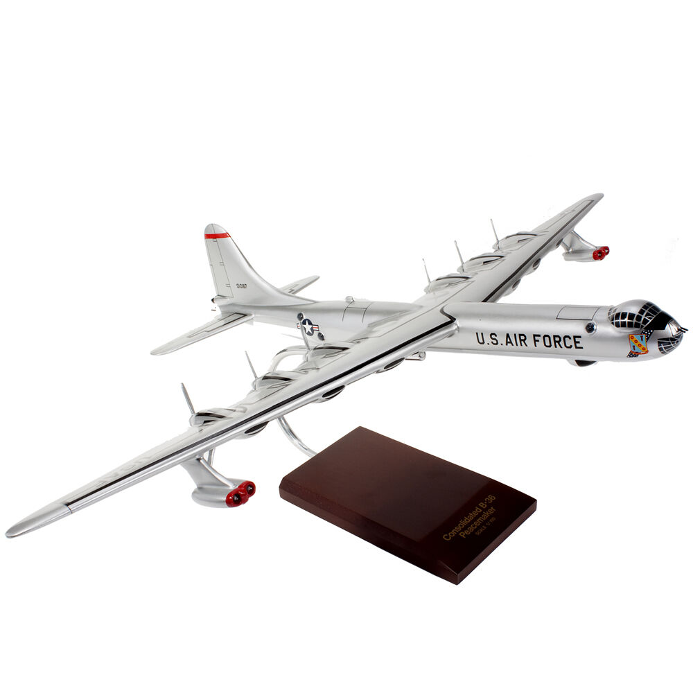 36j peacemaker desk top display 1 100 model aircraft airplane new