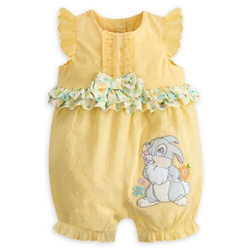 DISNEY STORE THUMPER SPRING ROMPER FOR BABY CONTRAST