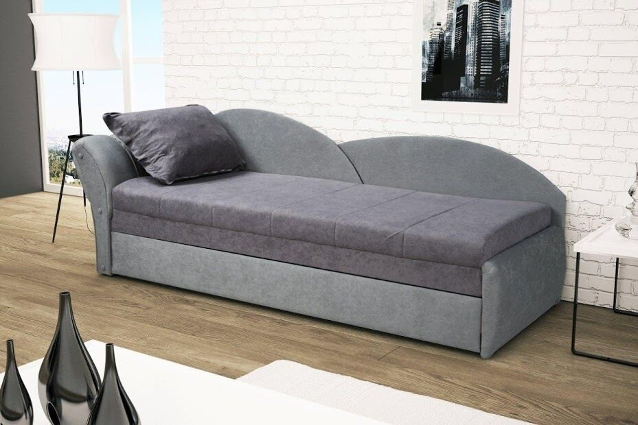sofa aga1 couch mit bettfunktion recamiere schlaffunktion 01274 ebay. Black Bedroom Furniture Sets. Home Design Ideas