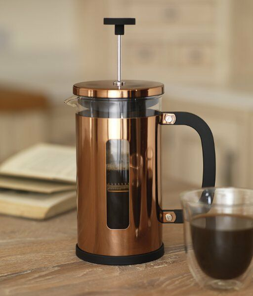 la cafetiere pisa 3 cup copper cafetiere coffee press 350ml ebay. Black Bedroom Furniture Sets. Home Design Ideas