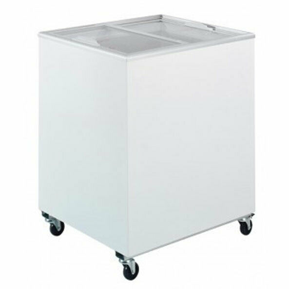 Chest Freezer With Sliding Glass Top