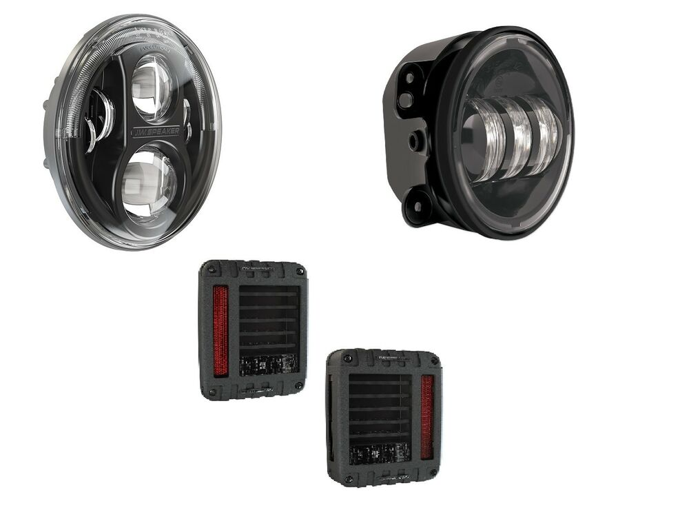 Jw Speaker Lights : Jw speaker j series led headlights tail lights fog