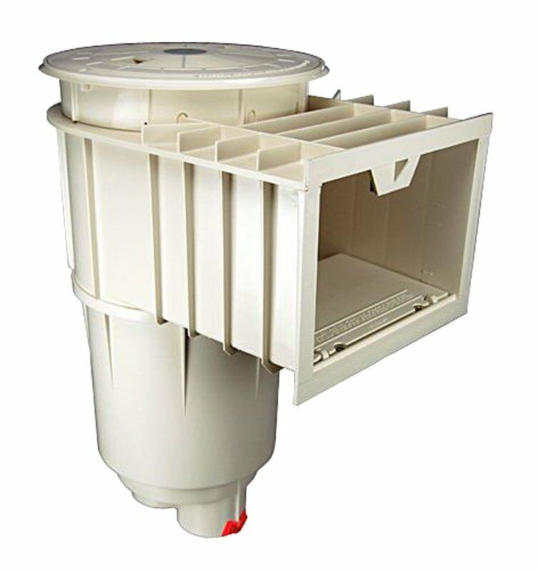 pentair sta rite u 3 swimquip in ground white swimming pool skimmer 08650 1404 ebay ForIn Ground Swimming Pool Skimmer