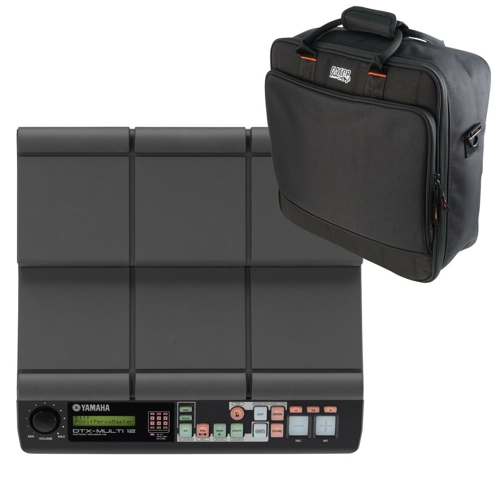 yamaha dtx multi 12 electronic percussion pad stage kit ebay. Black Bedroom Furniture Sets. Home Design Ideas