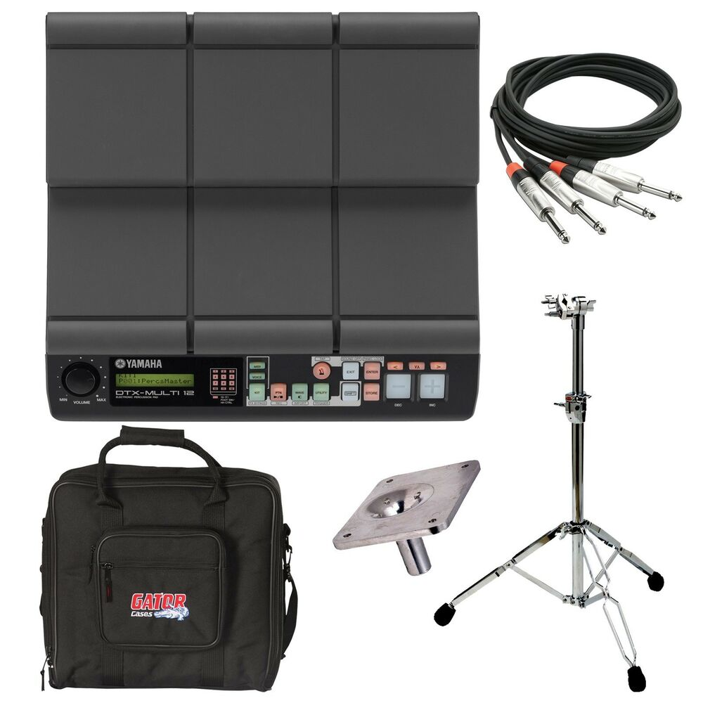 yamaha dtx multi 12 electronic percussion pad stage rig ebay. Black Bedroom Furniture Sets. Home Design Ideas