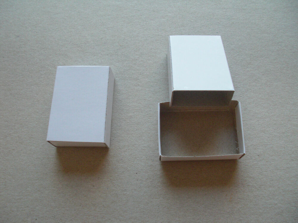Empty plain matchboxes pill trinket boxes choice of 1 7 for Blank matchboxes for crafts