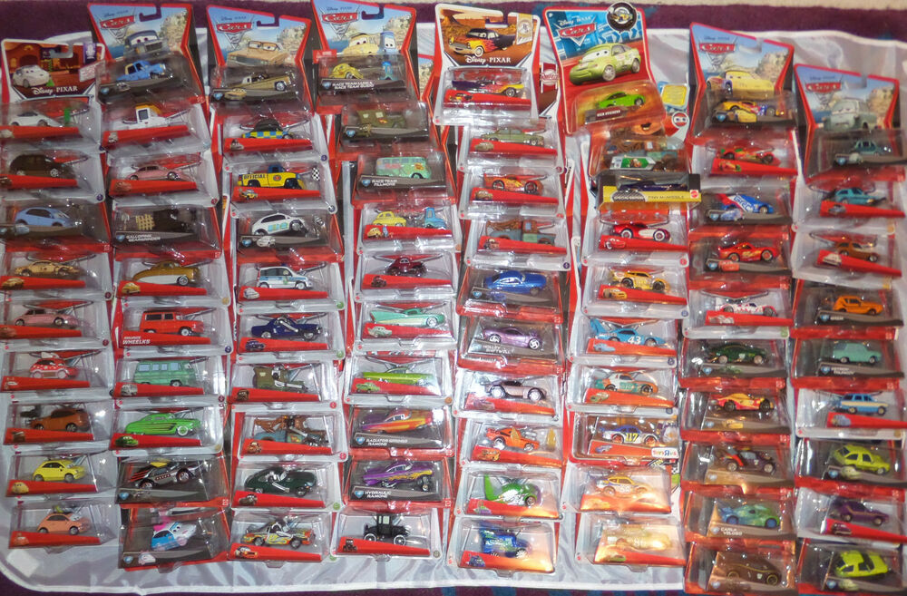 Disney Pixar Cars 2 Diecast Collection Rare Lot Characters