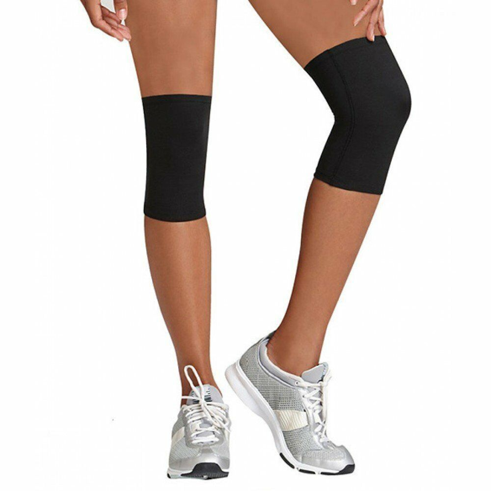 (2) Beautyko USA Womens Thera Copper KNEE SLEEVE Athletic ...