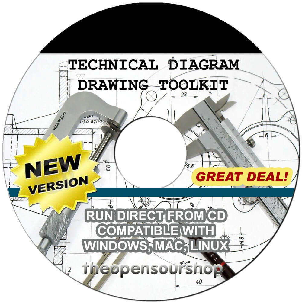 Technical Drawing Software Kit Cd  U2013 Draw Professional