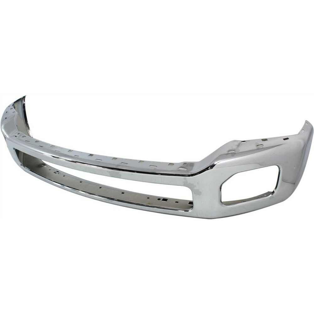 front bumper for 2011 2016 ford f 250 super duty f 350 super duty chrome steel ebay. Black Bedroom Furniture Sets. Home Design Ideas