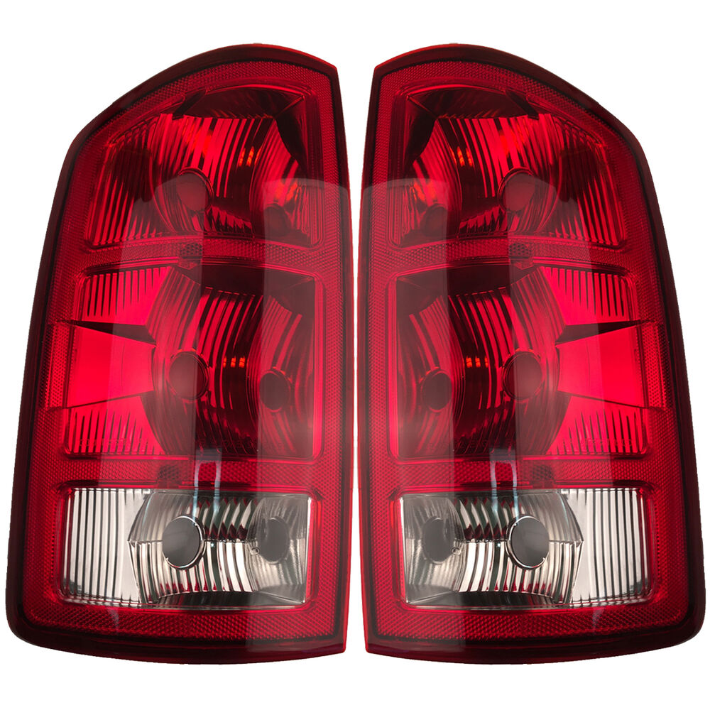 Pair Left Amp Right Tail Lights W O Circuit Boards Fits 2002