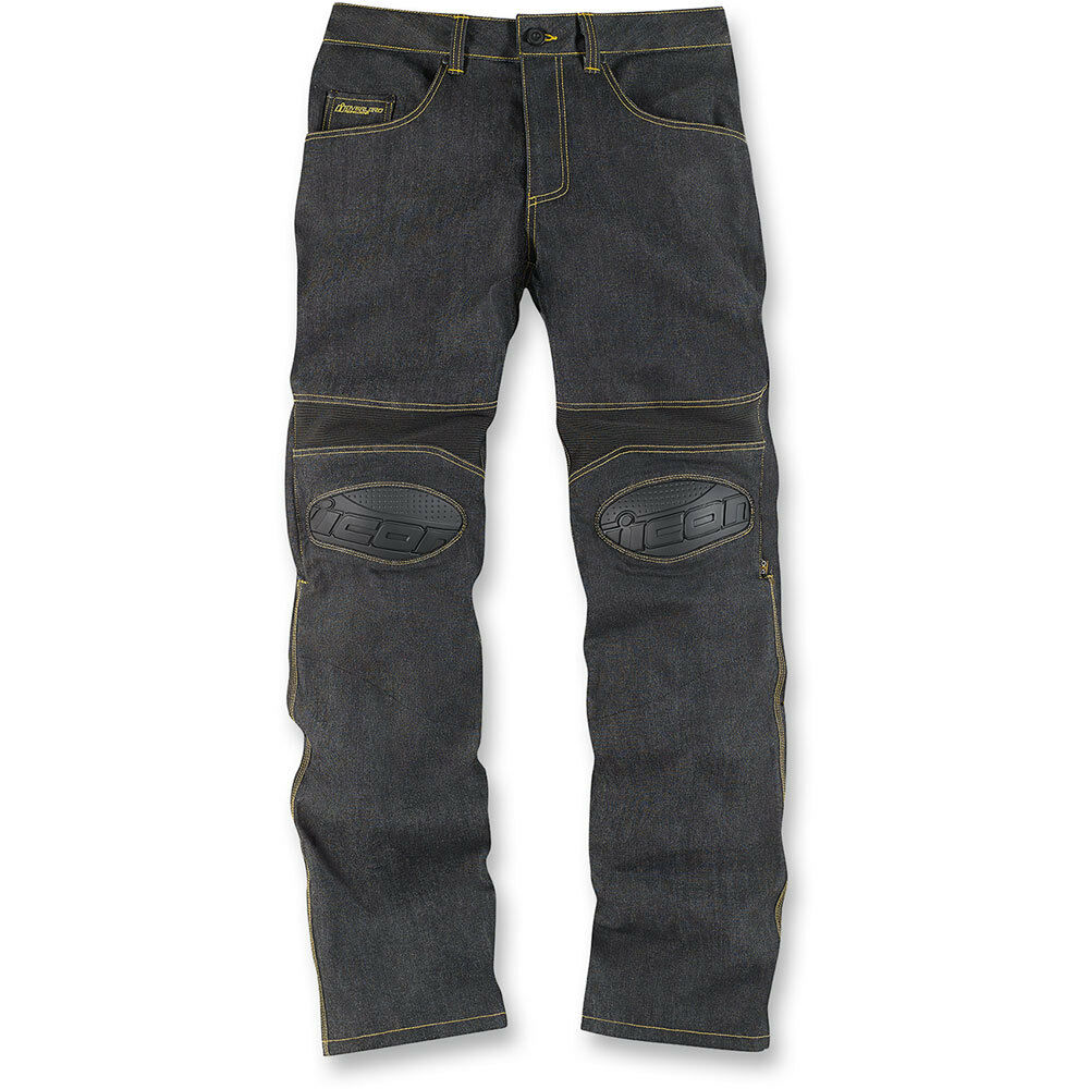 Icon Men's Overlord Denim Motorcycle Jeans Riding Pants ...