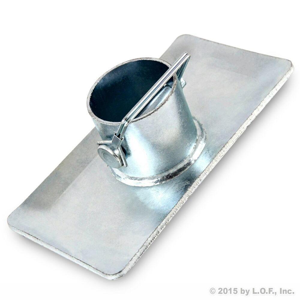 New Trailer Jack Foot Plate With Pin Base for A-Frame Boat