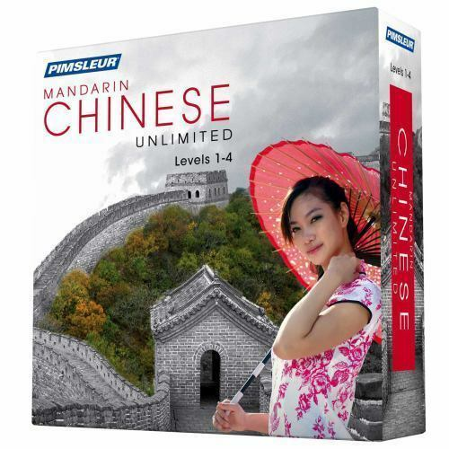 Pimsleur Mandarin Chinese Level 3+4 (32CD) Gold Approach Method Audio Course