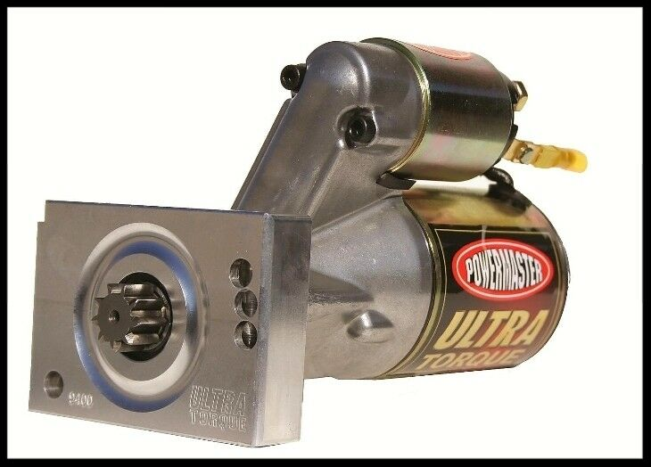 Powermaster 9400 Ultra Torque Sbc Bbc Chevy Mini Starter   9400