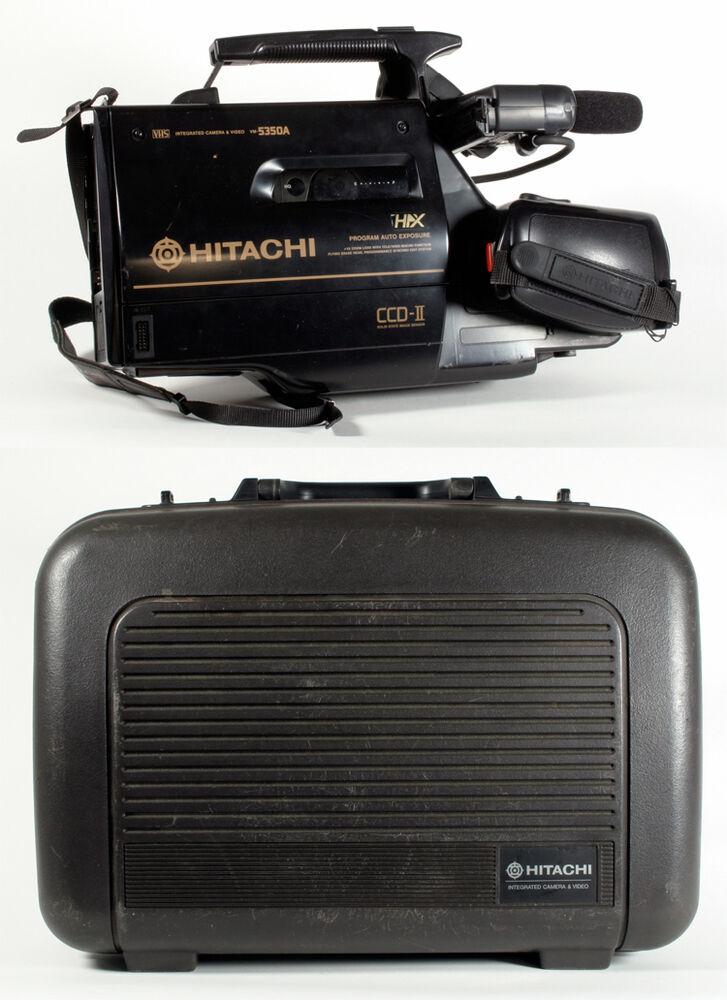 Hitachi Vhs Camcorder Non Working For Parts