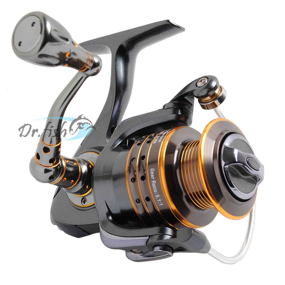Saltwater fishing spinning reel 2000 12 stainless bearings for Ebay fishing reels