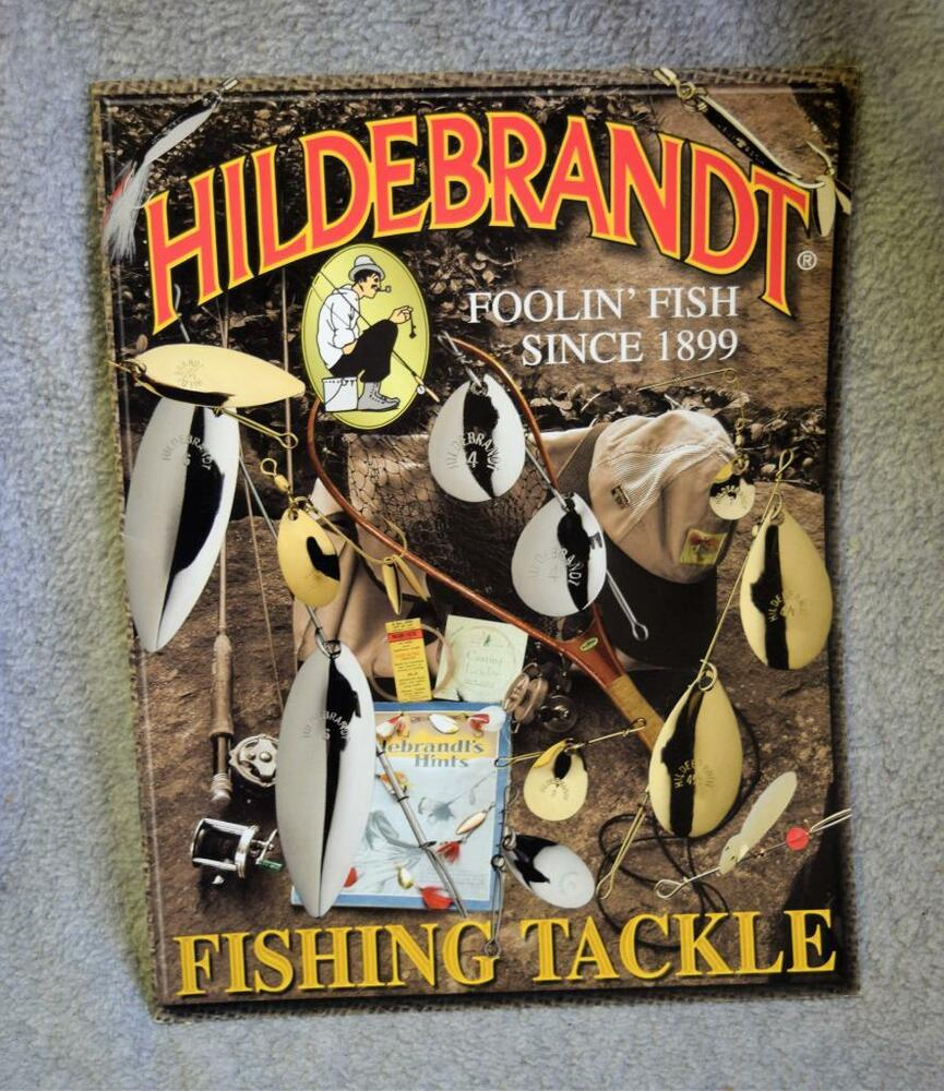 2003 hildebrandt fishing tackle lures spinners baits for Ebay fishing gear