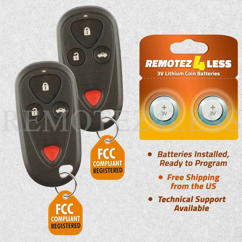Replacement For Acura TL TSX Keyless Entry Remote Car Key