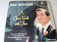 """PAT BOONE 7"""" ep record  A CLOSER WALK WITH THEE"""