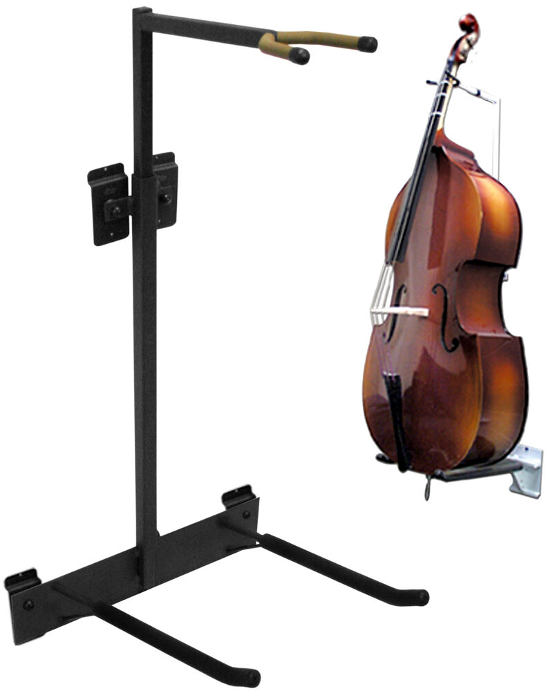 string swing hh10 upright bass cello wall stand flatwall mounting ebay. Black Bedroom Furniture Sets. Home Design Ideas