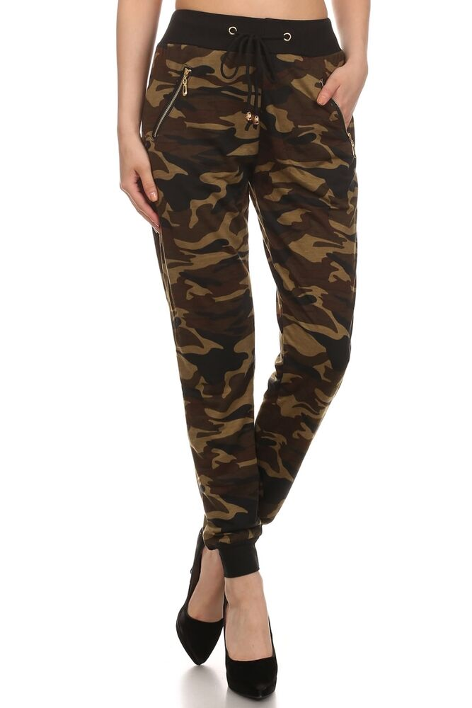 Awesome REWASH Camo Womens Rayon Pants 293601946 | Pants + Joggers