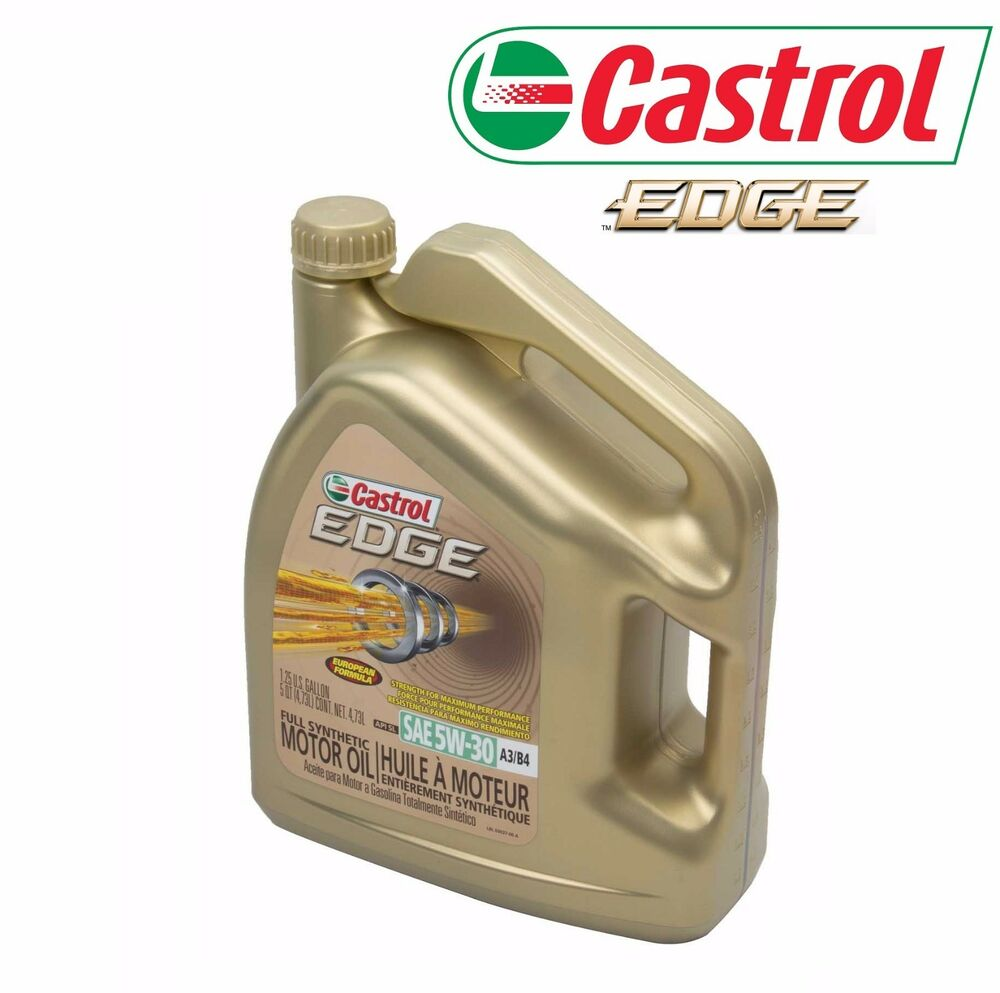 5 Quarts 5w30 CASTROL EDGE Fully Synthetic 5w-30 Engine