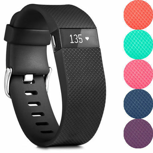 Fitbit Charge Hr Activity Heart Rate Sleep Wristband Ebay