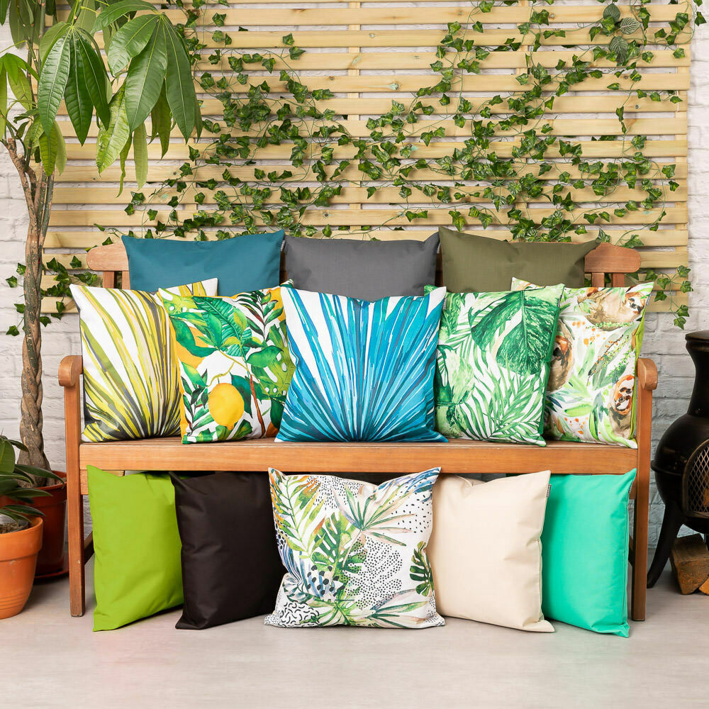 garden scatter cushion for outdoor furniture water
