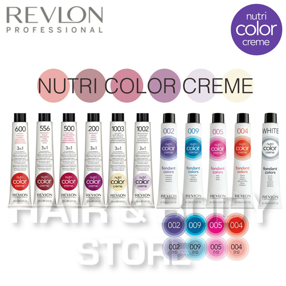 COLOR immediate NUTRI COLOUR REVLON PROFESSIONAL nutricolor ...