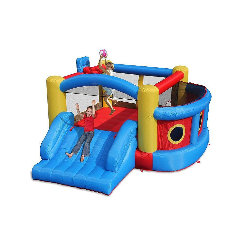 Magic Time Fort Sport Inflatable Bouncer and Slide 4-in-1 ...