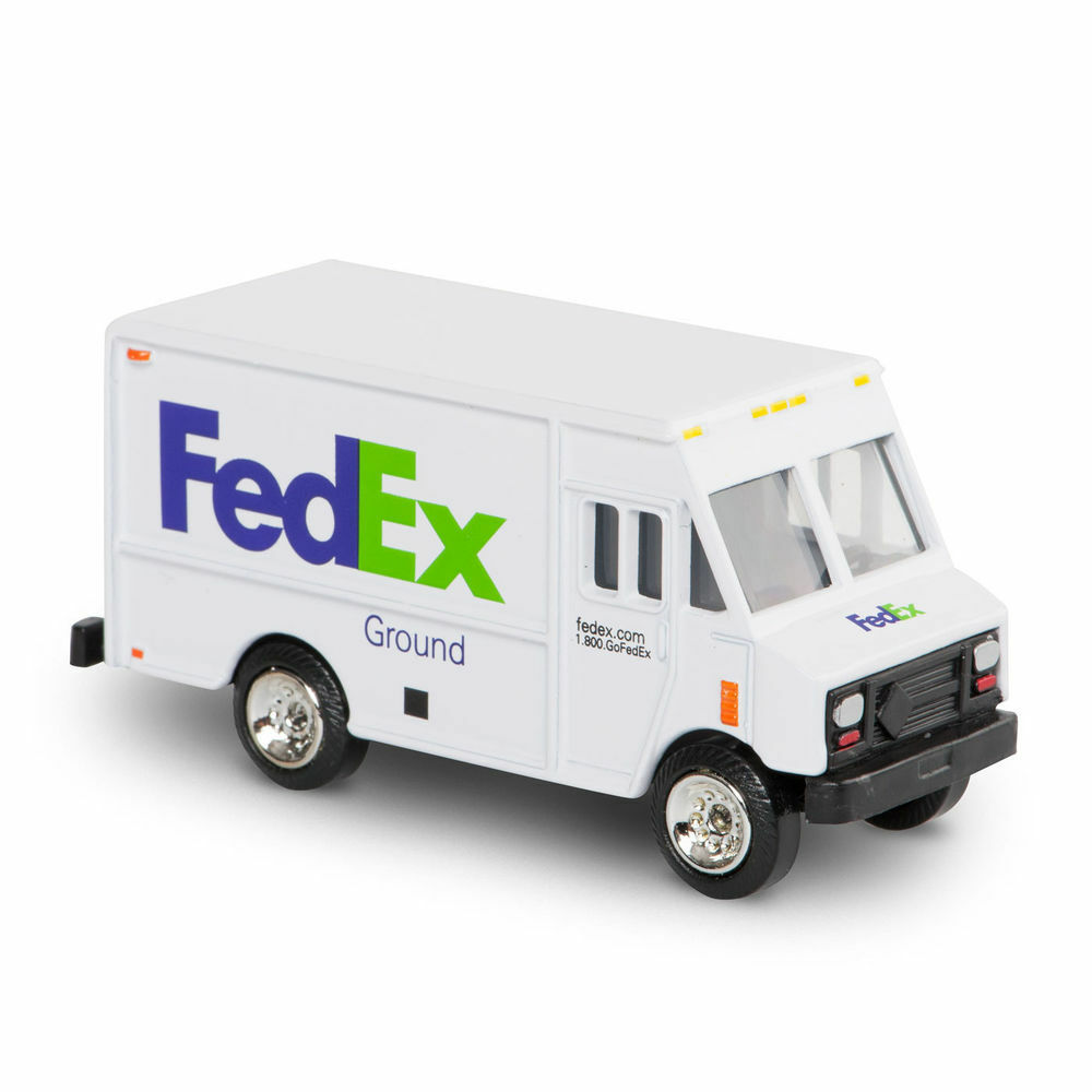 The gallery for --> Fedex Truck Toy