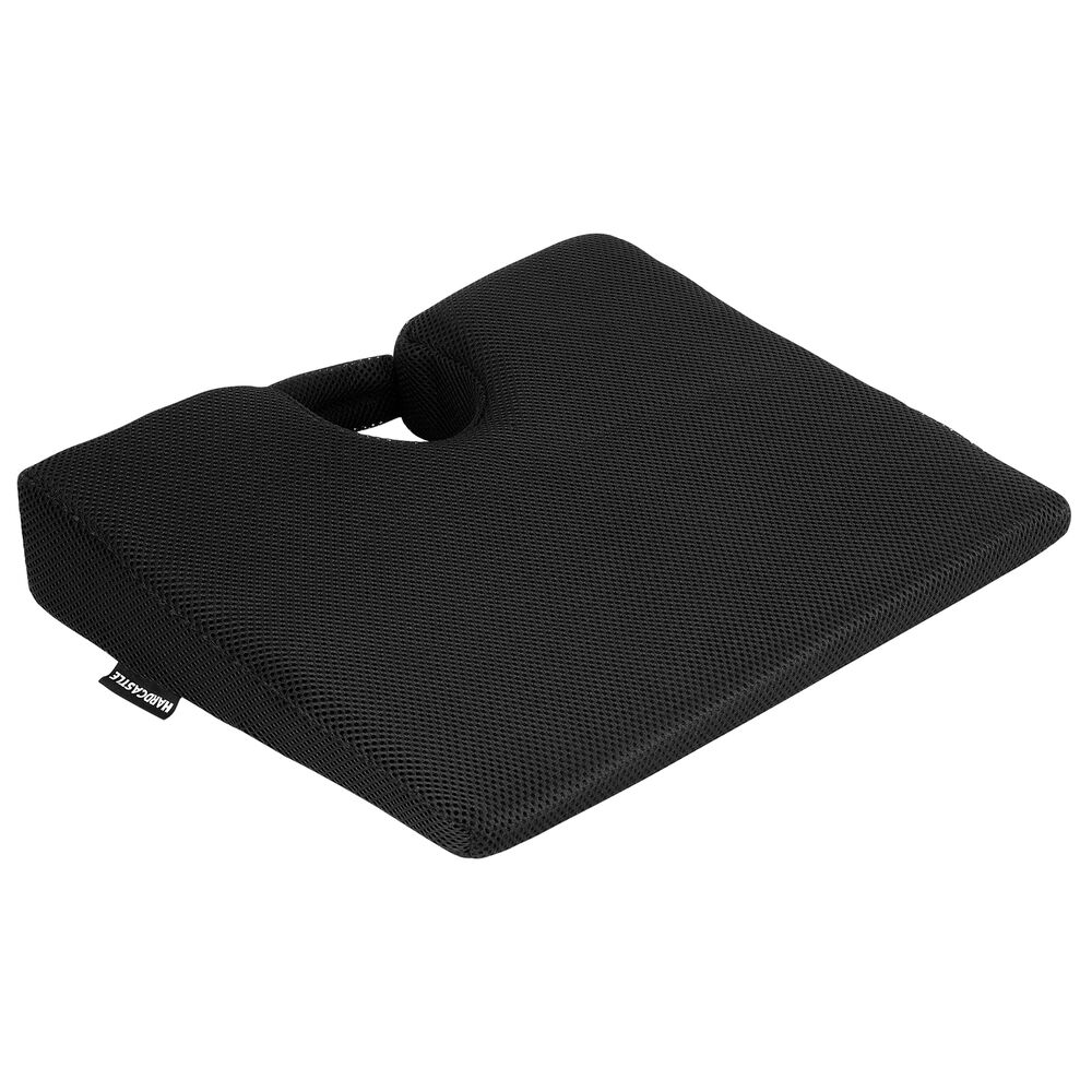 memory foam wedge seat chair cushion lower base posture support car home office ebay. Black Bedroom Furniture Sets. Home Design Ideas