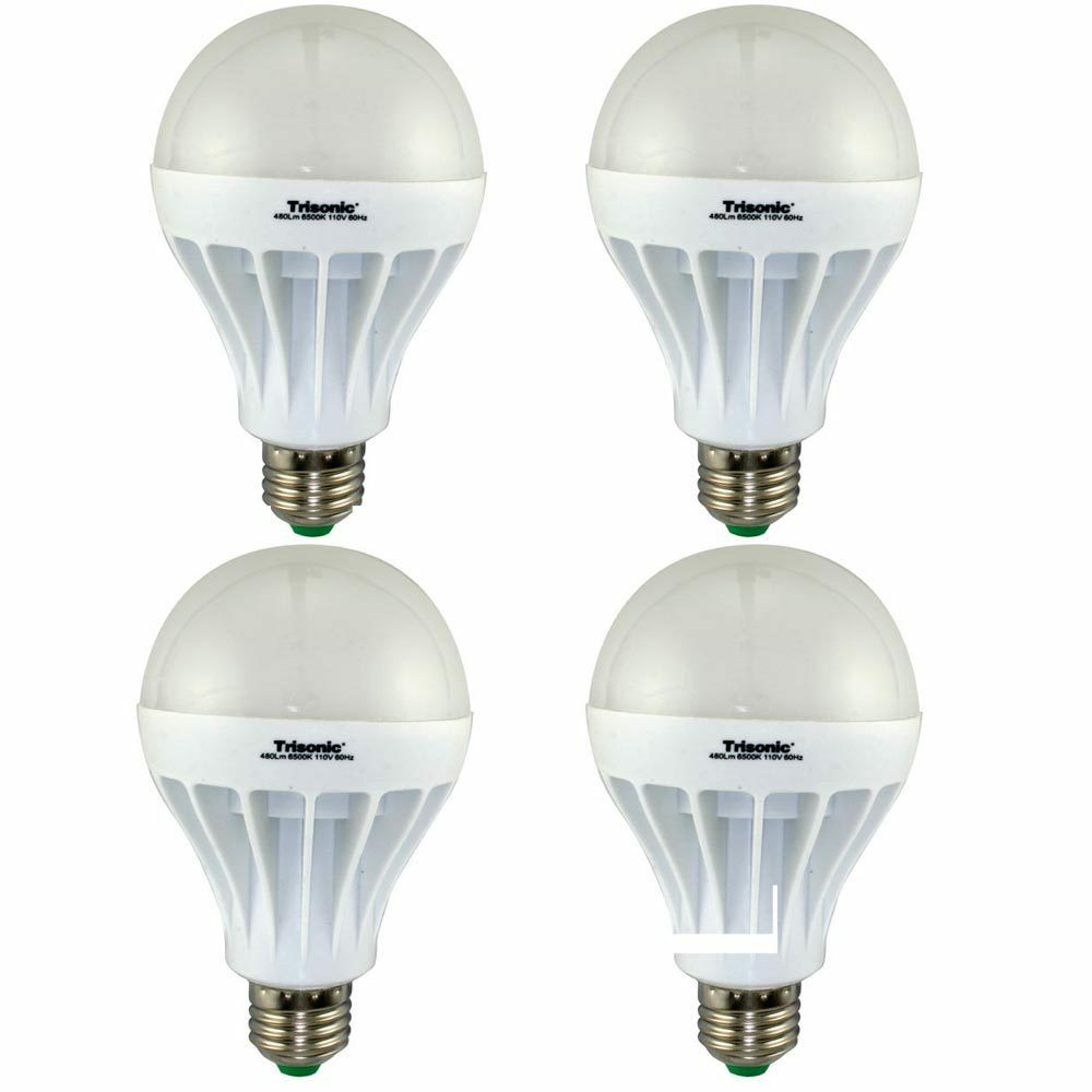 4 Pc Daylight 12 Watt Energy Led Light Bulb 100 W Output