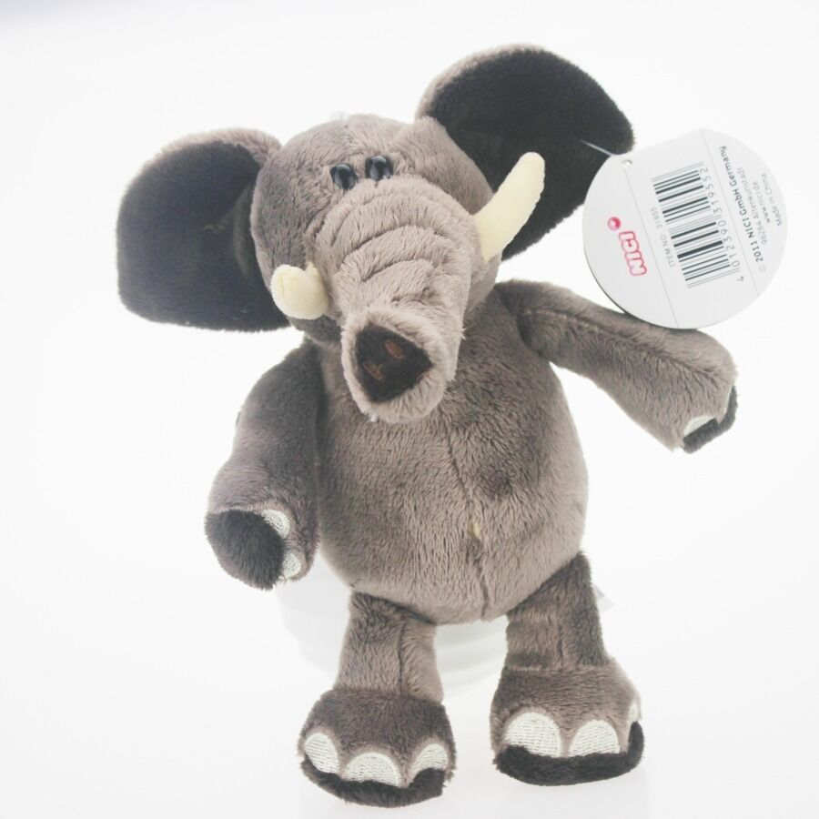 20cm New Gray Elephant Stuffed Animals Soft Toy Plush Doll Ebay