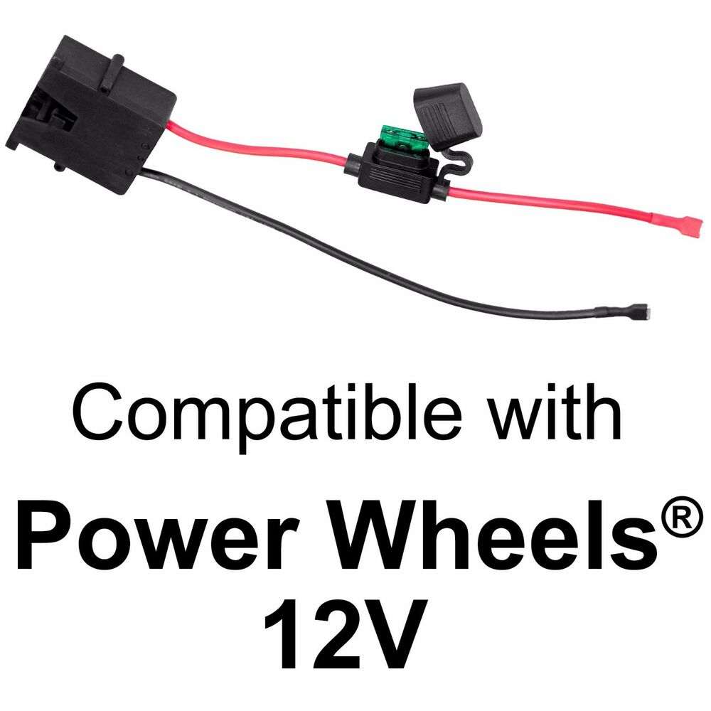 power wheels kawasaki wiring diagram power wheels jeep wiring harness wire harness connector for fisher-price® power wheels® 12 ...