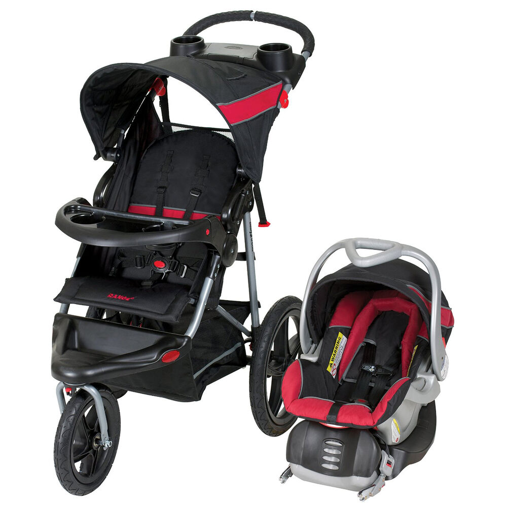 Baby Trend Car Seat Jogging Stroller Travel System