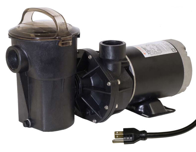 Hayward 1 5 Hp Power Flo Above Ground Pool Pump With 6 Ft