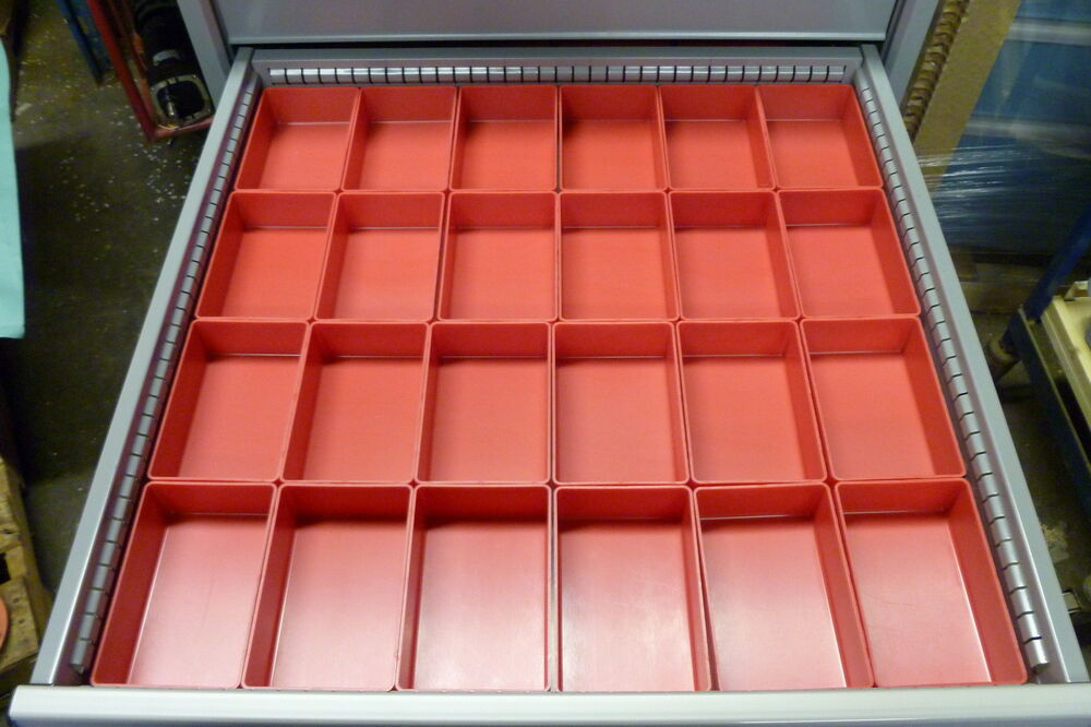 Kennedy Tool Boxes >> 24 4x6 Plastic Boxes fit Lista Vidmar Waterloo Craftsman ...
