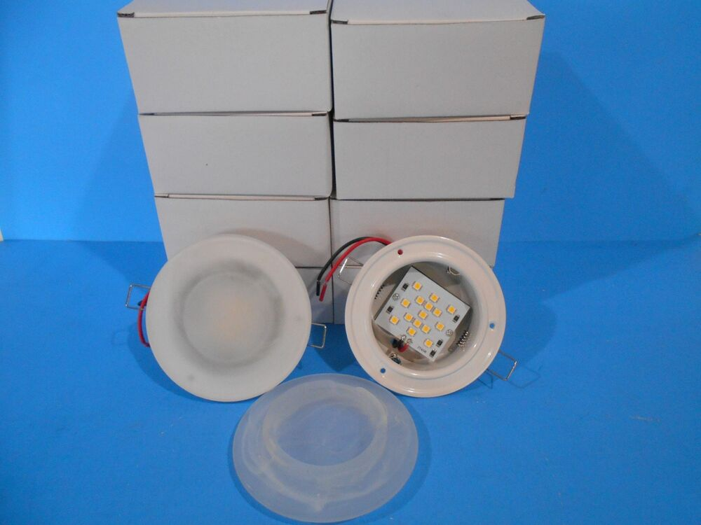 10 12 volt recessed 4 3 4 led interior ceiling mount lights rv