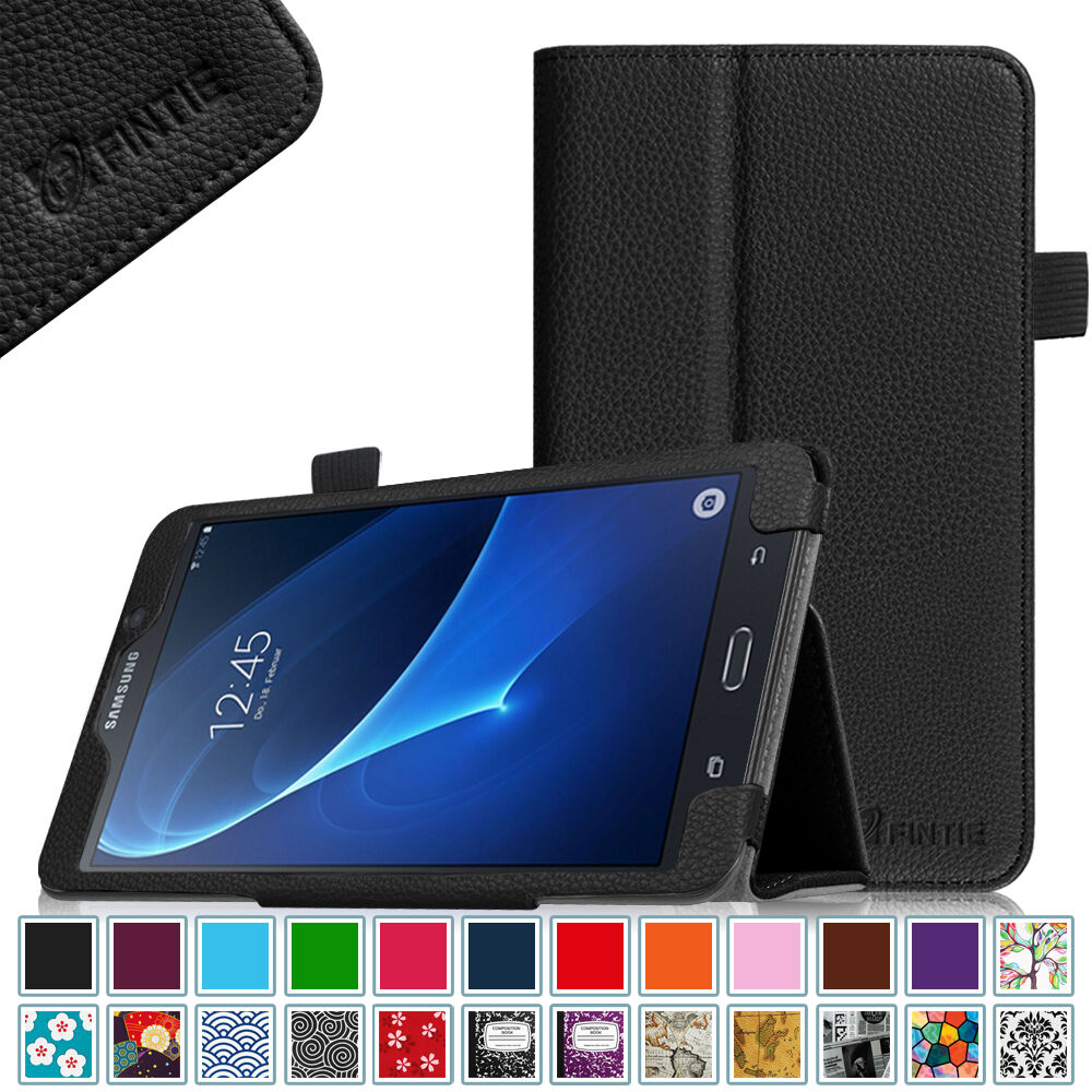 leather case cover samsung galaxy tab a 7 0 7 inch tablet. Black Bedroom Furniture Sets. Home Design Ideas