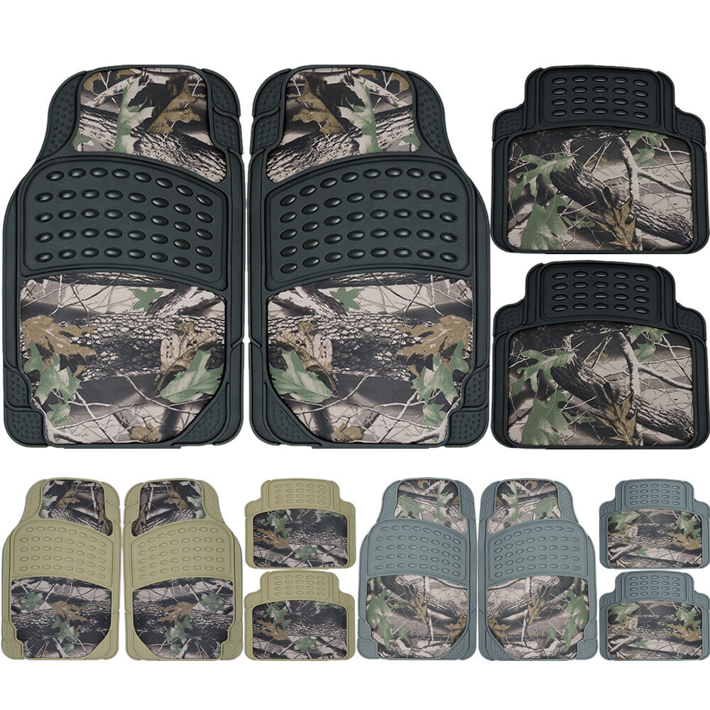 Jungle Forest Hunting Camo Car Camouflage Front Rear